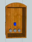 3D back of radio