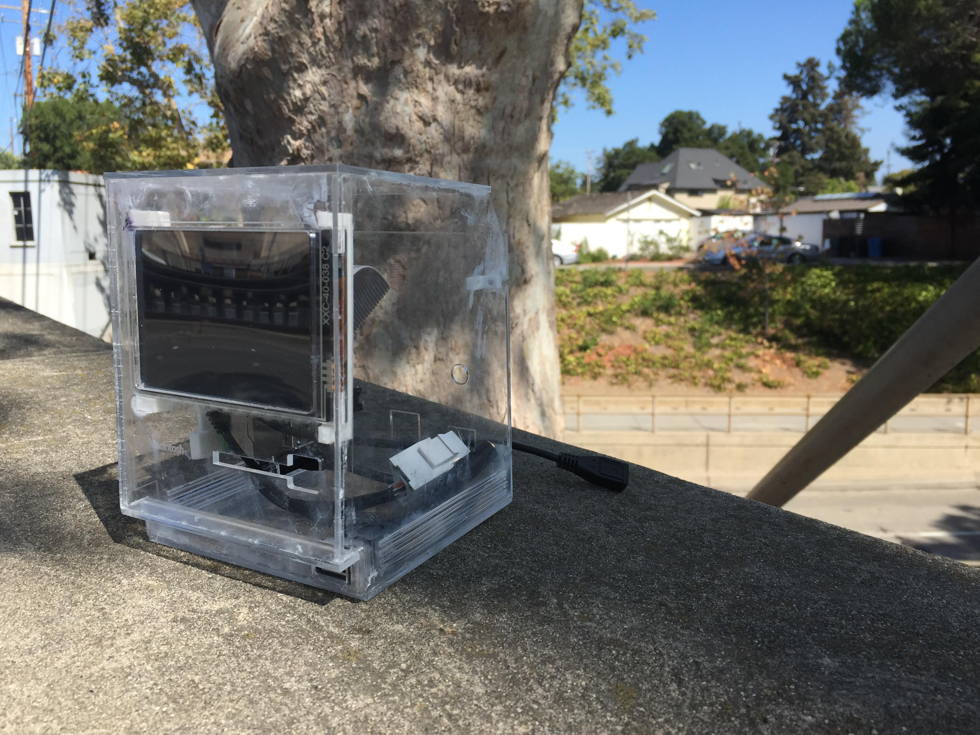 Clear Mini Mac