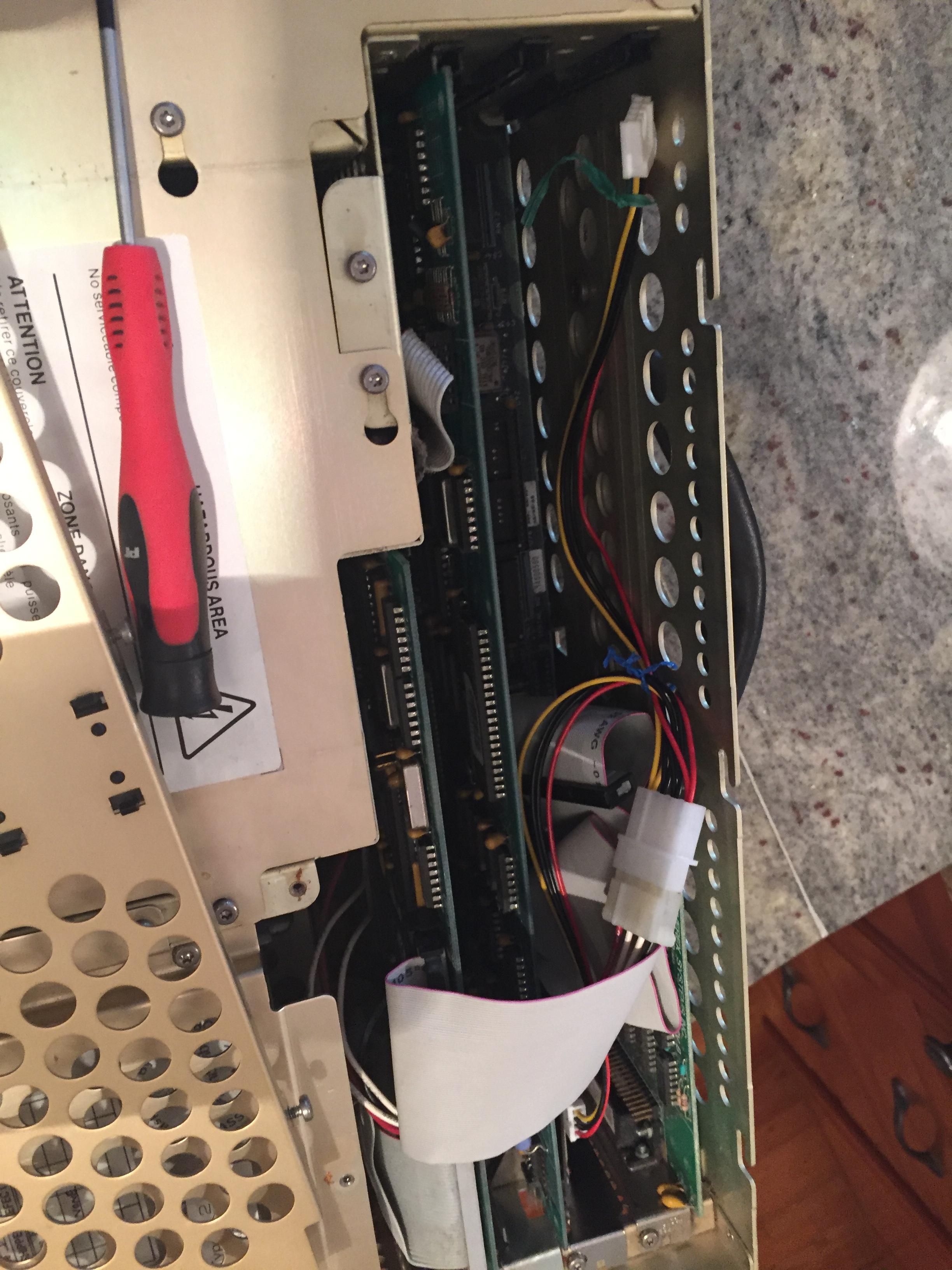 Restoring A 1987 Compaq Portable Ii Buildingtents Pc Wiring Diagram